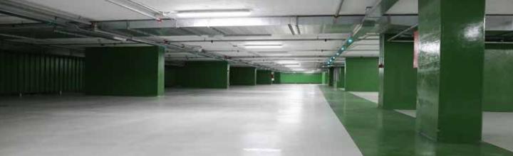 Sistemi resinosi Sika per parcheggi interni ed esterni