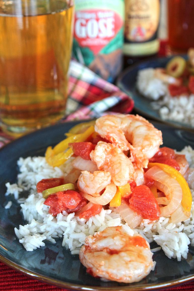 Camarones a la Veracruzana (Shrimp Veracruz)