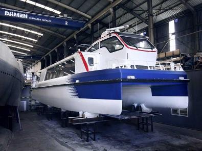 Un nuovo traghetto per il trasporto pubblico