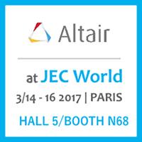 Simulazione dei compositi: al JEC World, Altair dimostra come sfruttare il potenziale del lightweight design