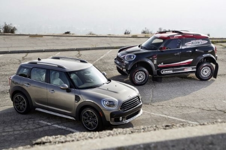 Una Mini per il Dakar Rally