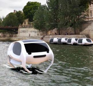 Sea Bubble: il taxi fluviale a energia solare