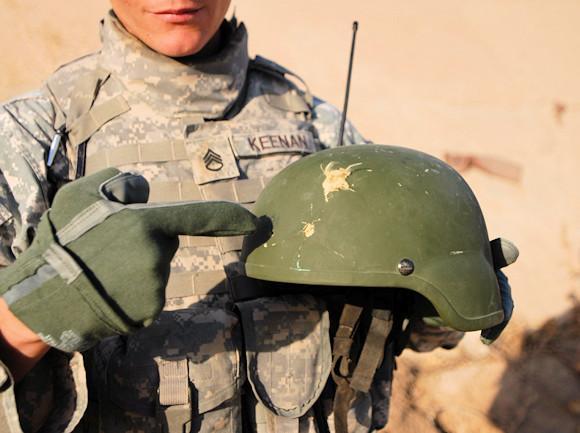 I nuovi elmetti dell'Esercito USA