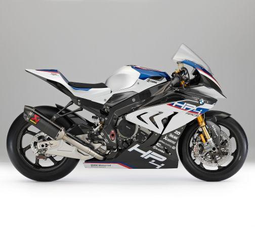 HP4 Race BMW Motorrad: un telaio interamente in carbonio